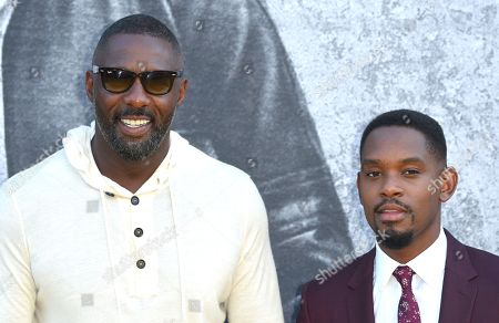 Aml Ameen and Idris Elba