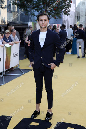Stock Picture of Adnan Mustafa poses for photographers on arrival at the premiere of the film 'Yardie', in London