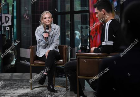 "Emily Kinney participates in the BUILD Speaker Series to discuss her new CD ""Oh Jonathan"" at AOL Studios, in New York"