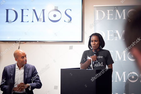 Editorial photo of Demos youth violence talk, London, UK - 21 Aug 2018