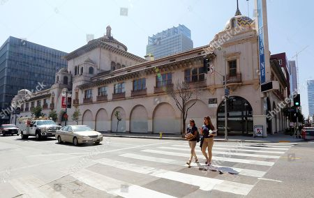 Editorial image of Newspaper Building Repurposed, Los Angeles, USA - 21 Aug 2018