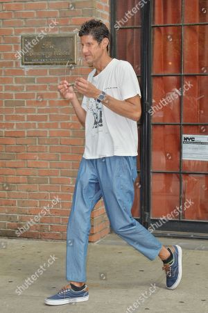 Editorial picture of Mike Diamond out and about, New York, USA - 21 Aug 2018