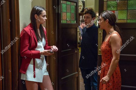 Ep 8237 Tuesday 21st August 2018  When Victoria Sugden, as played by Isobel Hodgins, finds Abby, as played by Alyssia Jarvis, crying she assumes Matty Barton, as played by Ash Palmisciano, told her about his transition and lashes out at her for not understanding. But Victoria is mortified when she realises Abby didn't know afterall. Matty is devastated, will he be able to forgive Victoria?