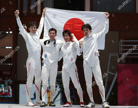 Editorial picture of Asian Games Fencing, Jakarta, Indonesia - 22 Aug 2018