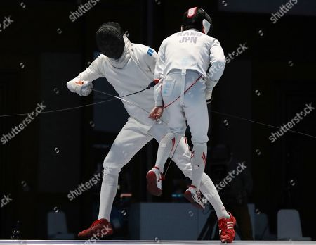 Editorial image of Asian Games Fencing, Jakarta, Indonesia - 22 Aug 2018