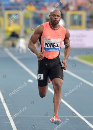 Asafa Powell of Jamaica
