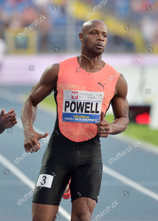 Stock Picture of Asafa Powell of Jamaica