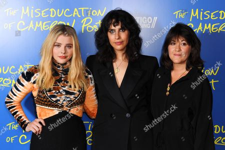Chloe Grace Moretz, Desiree Akhavan and Cecilia Frugiuele