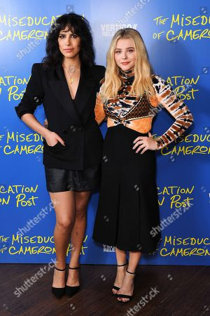 Desiree Akhavan and Chloe Grace Moretz