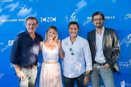 Jean Paul Rouve, Ludivigne Sagnier and Jose Garcia