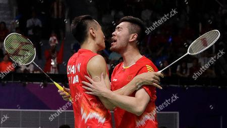 Editorial photo of Asian Games Badminton, Jakarta, Indonesia - 22 Aug 2018