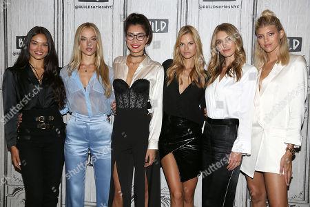Shanina Shaik, Hannah Ferguson, Ping Hue, Nadine Leopold, Caroline Lowe and Devon Windsor