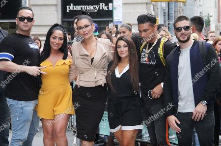 Michael The Situation Sorrentino, Jenni J-Woww Farley, Paul DelVecchio and Vinny Guadagnino