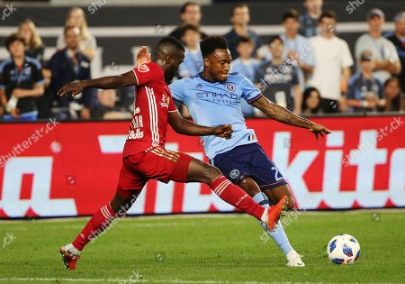 Editorial photo of MLS Red Bulls NYCFC Soccer, New York, USA - 22 Aug 2018
