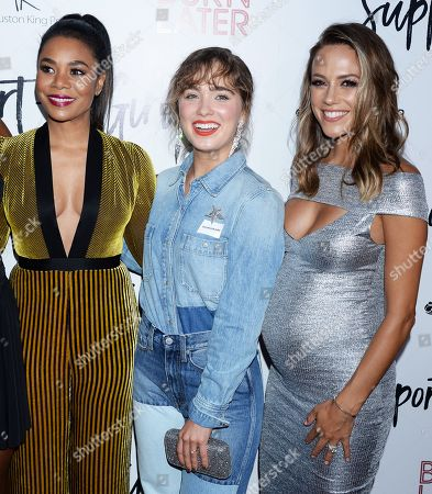 Regina Hall, Haley Lu Richardson and Dylan Gelula