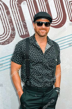 Kip Moore arrives at the 12th annual ACM Honors at the Ryman Auditorium on in Nashville, Tenn
