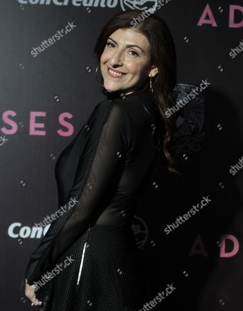 Mexican actress Karina Gidi poses on the red carpet during an event promoting the film 'Los Adioses (The Eternal Feminine)', in Mexico City, Mexico, 22 August 2018. The film, directed by Mexican director Natalia Beristain, explores the life of writer Rosario Castellanos and will premiere on 24 August 24 in Mexico.