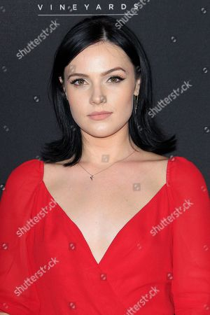 US actress Cait Fairbanks arrives at the Television Academy Reception for the Daytime TV stars celebration of the 70th Emmy Awards at Saban Media Center in North Hollywood, Los Angeles, California, USA, 22 August 2018