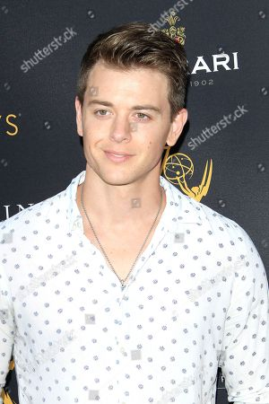 US actor Chad Duell arrives at the Television Academy Reception for the Daytime TV stars celebration of the 70th Emmy Awards at Saban Media Center in North Hollywood, Los Angeles, California, USA, 22 August 2018