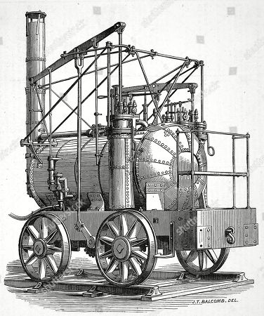 Puffing Billy Steam Engine Invented By William Editorial Stock Photo