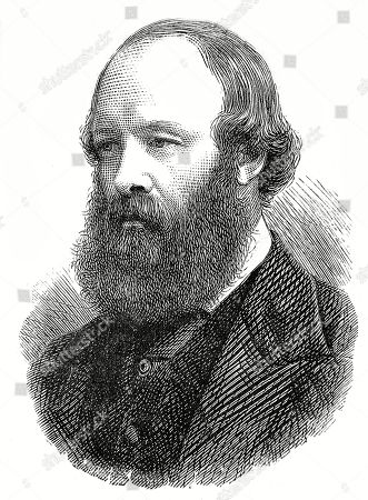 Engraving of Robert Cecil 3rd Marquis of Salisbury (1830-1903) the English Conservative Statesman Pictured in 1878 Shortly After His Return From the Berlin Congress. Illustrated London News. 1878. Top Left Page 569.