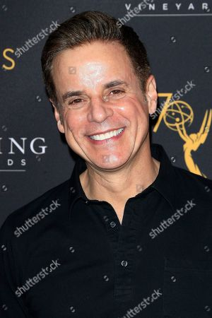 US actor Christian LeBlanc arrives at the Television Academy Reception for the Daytime TV stars celebration of the 70th Emmy Awards at Saban Media Center in North Hollywood, Los Angeles, California, USA 22 August 2018.