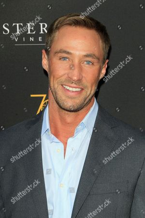 US actor Kyle Lowder arrives at the Television Academy Reception for the Daytime TV stars celebration of the 70th Emmy Awards at Saban Media Center in North Hollywood, Los Angeles, California, USA 22 August 2018.