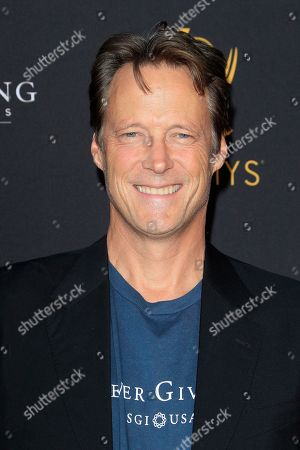 US actor Matthew Ashford arrives at the Television Academy Reception for the Daytime TV stars celebration of the 70th Emmy Awards at Saban Media Center in North Hollywood, Los Angeles, California, USA 22 August 2018.