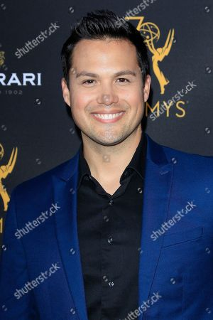 US actor Michael Copon arrives at the Television Academy Reception for the Daytime TV stars celebration of the 70th Emmy Awards at Saban Media Center in North Hollywood, Los Angeles, California, USA 22 August 2018.