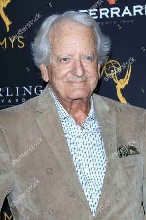 British actor Nicolas Coster arrives at the Television Academy Reception for the Daytime TV stars celebration of the 70th Emmy Awards at Saban Media Center in North Hollywood, Los Angeles, California, USA 22 August 2018.