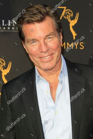 US actor Peter Bergman arrives at the Television Academy Reception for the Daytime TV stars celebration of the 70th Emmy Awards at Saban Media Center in North Hollywood, Los Angeles, California, USA 22 August 2018.
