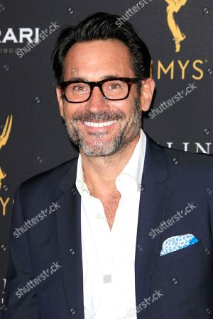 US actor Gregory Zarian arrives at the Television Academy Reception for the Daytime TV stars celebration of the 70th Emmy Awards at Saban Media Center in North Hollywood, Los Angeles, California, USA 22 August 2018.