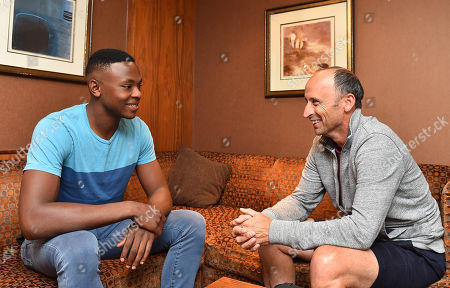 South African Fast Bowler Kagiso Rabada Is Interviewed For The Daily Mail By Nasser Hussain Ahead Of The Upcoming Test Series V England.
