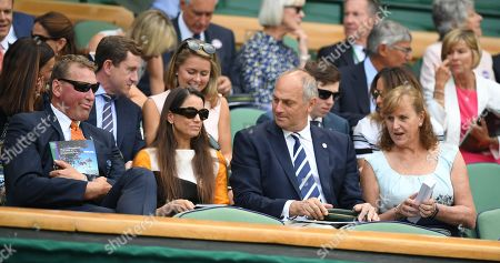 Steve Redgrave . The Wimbledon Tennis Championships 201710/07/2017 Day 7 Matthew Pinsent And Steve Redgrave.