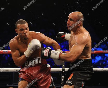 Chris Eubank Jnr V Arthur Abraham At The Wembley Arena Fighting For The Ibo Super-middleweight Title. Chris Eubank Jnr Won The Fight Via A Unanimous Decision.