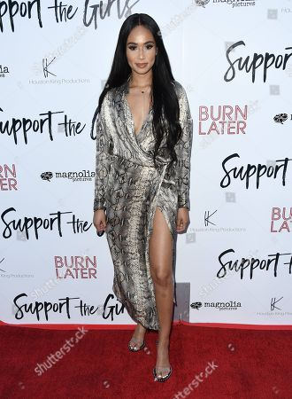 Editorial picture of 'Support The Girls' film premiere, Arrivals, Los Angeles, USA - 22 Aug 2018