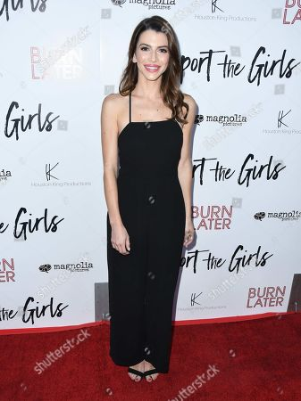Editorial image of 'Support The Girls' film premiere, Arrivals, Los Angeles, USA - 22 Aug 2018