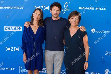 Camille Cottin, Pierre Deladonchamps and Cecilia Rouaud