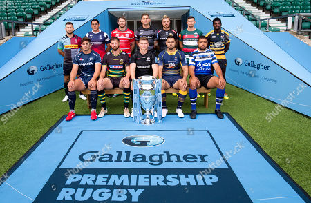 Players: Gloucester's Jaco Kriele, Newcastle Falcons' Toby Flood, Bath's Toby Faletau, Northampton Saints' Tom Wood, Leicester Tigers' Ben Youngs, Exeter Chiefs' Jack Nowell, Sale Sharks' Jono Ross, Harlequins' Danny Care, Bristol Bears' George Smith, Saracens' Owen Farrell, Wasps' Christian Wade and Worcester Warriors' Ben Te'o.