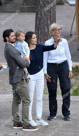 Prince Alexander, Princess Sofia of Sweden, Prince Carl Philip, Liselott Hagberg