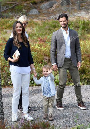 Prince Alexander, Princess Sofia of Sweden, Prince Carl Philip