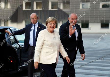Editorial picture of Angela Merkel visits Georgia, Tbilisi - 23 Aug 2018