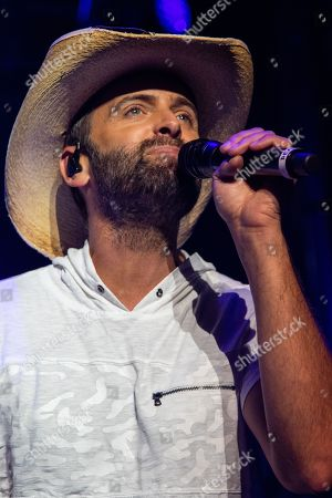 Editorial photo of Dean Brody in concert, Vancouver, Canada - 21 Aug 2018
