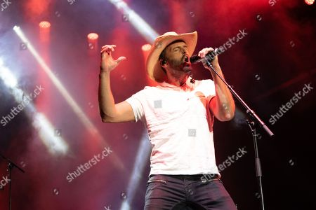 Editorial picture of Dean Brody in concert, Vancouver, Canada - 21 Aug 2018