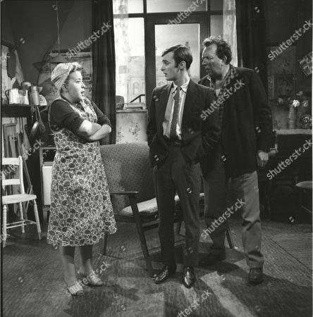 Susan Field (as Ethel Tyson), Bunny May (as Jim Pickup) and Paul Dawkins (as George Pickup)