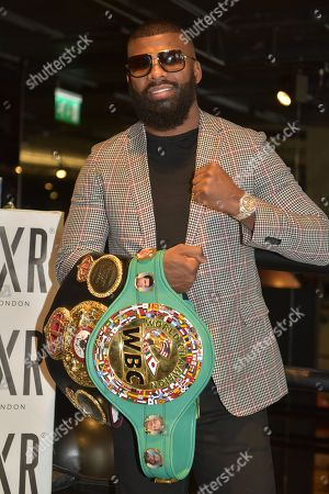 Boxer Badou Jack during a Media Event at the BXR Gym on 23rd August 2018