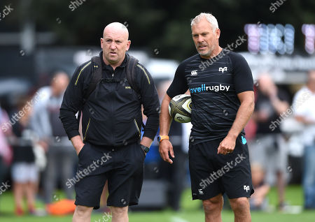 Stock Picture of Shaun Edwards and Brad Davis.