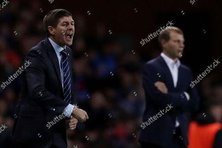 Rangers manger Steve Gerrard