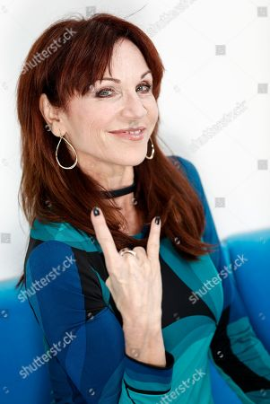 """Marilu Henner poses for a portrait in New York to promote her seventh Broadway show, """"Gettin' The Band Back Together,"""" which opens on August 13"""