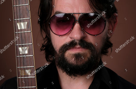 """Shooter Jennings, son of iconic country musicians, Waylon Jennings and Jessi Colter, poses for a portrait in Los Angeles to promote his latest album, """"Shooter,"""" out on August 10"""